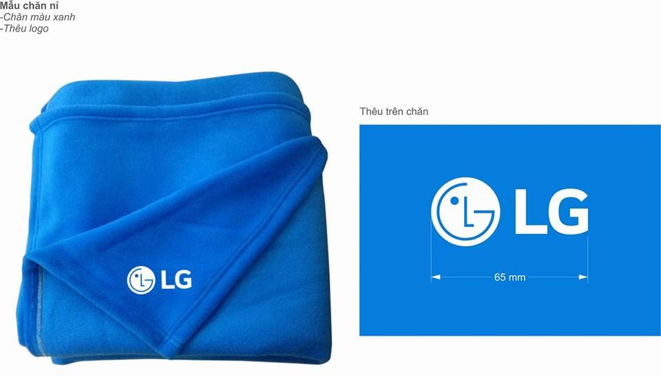 Chăn quà tặng khách hàng LG